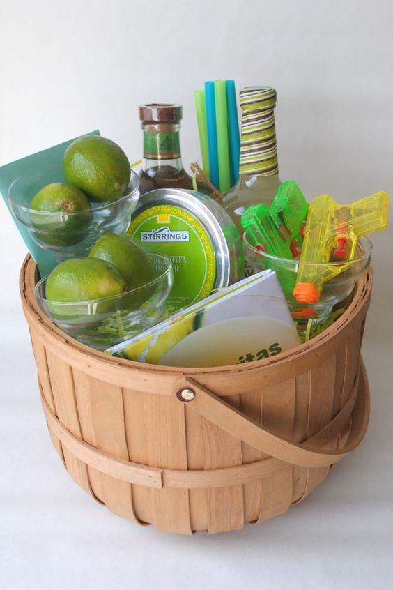 Harmony Creative Studio's Summer Neon Margarita Basket