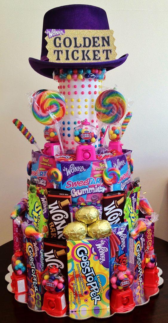 WONKA Candy Cake