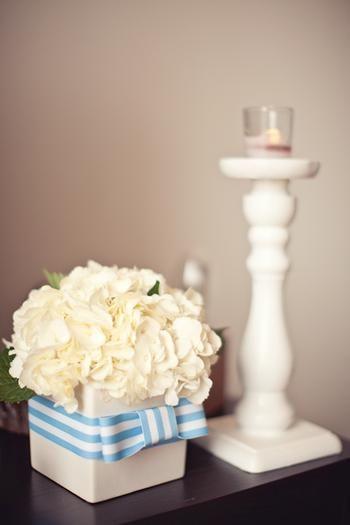 baby shower centerpiece flowers