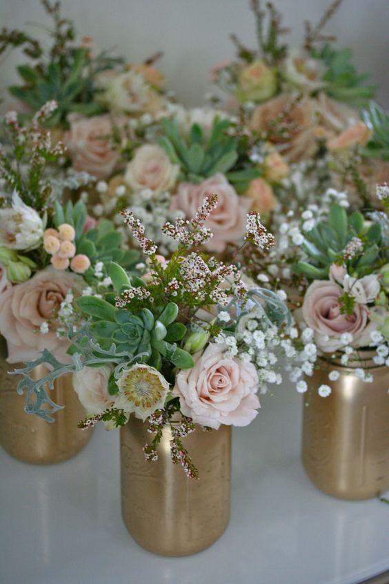 royal blue centerpieces flowers