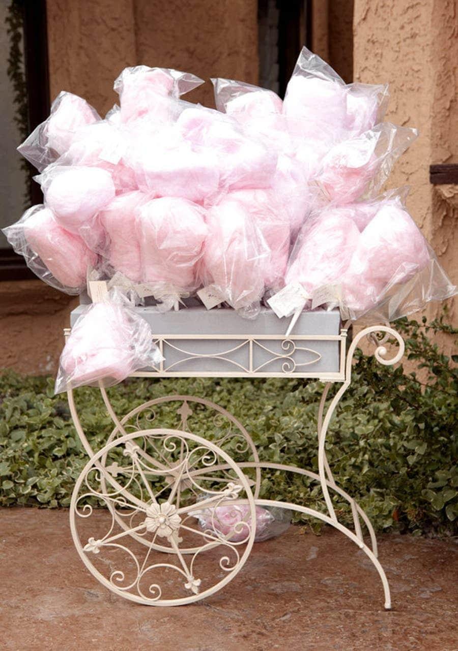 Cotton candy bar dessert bar