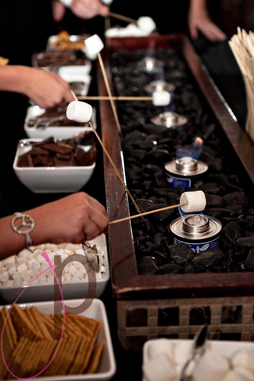smores interactive dessert bar