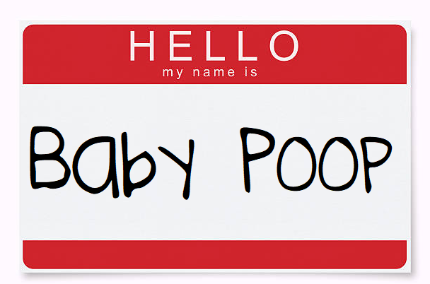my name is baby shower game
