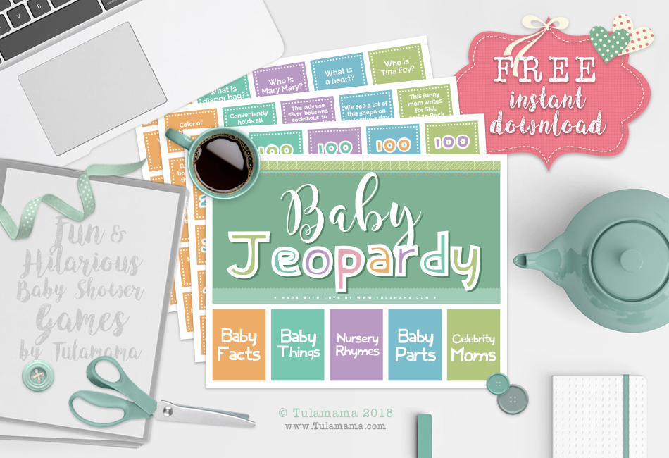 The Easiest & Cutest Baby Jeopardy With Answer Key