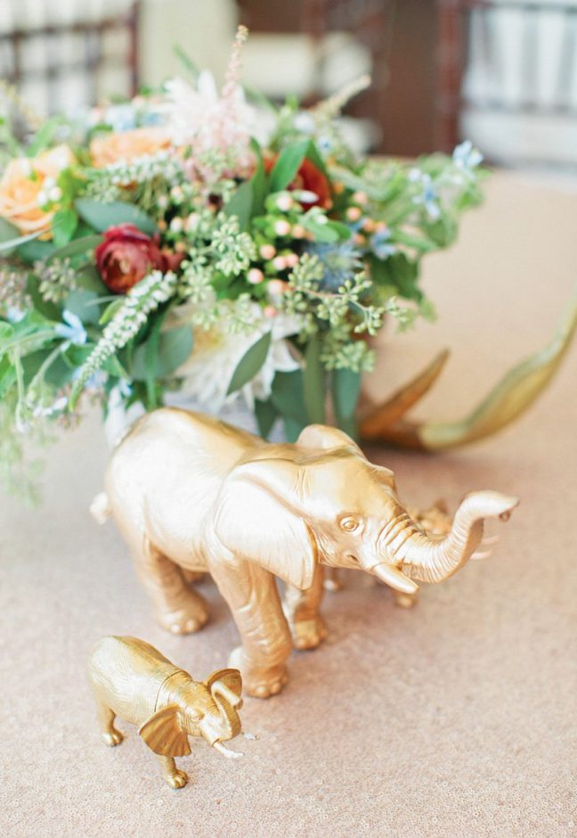 baby shower centerpiece elephant