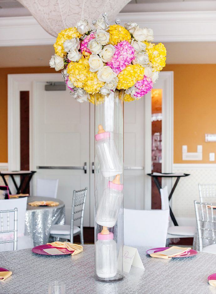 baby shower centerpiece ideas girl