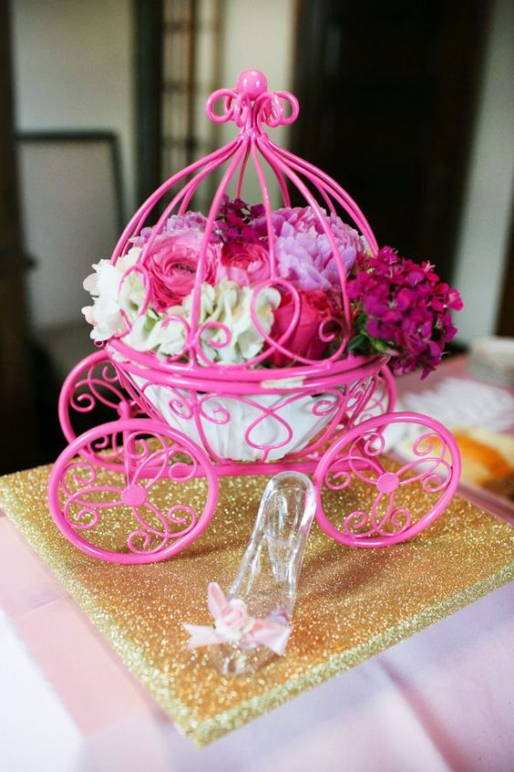baby shower centerpieces girl ideas