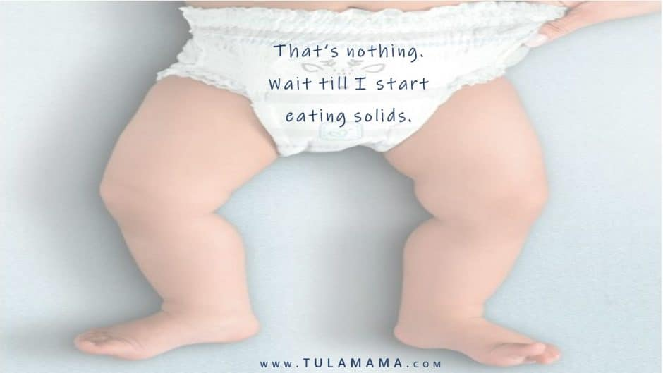 Funny Diaper Messages are great, especially if you're doing it as a baby shower activity. It's hilarious! But for some of us, trying to come up with great messages for late night diaper changes, can be a bit challenging. Here are 83 of the funniest diaper messages to share with your baby shower guests. #babyshower #babyshoweractivities #babyshowergames #postpartum
