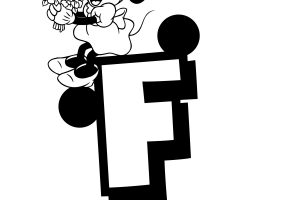 Letter F Coloring Pages
