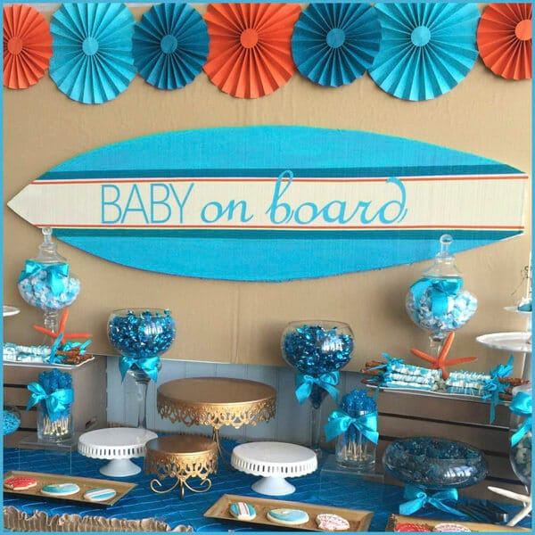 baby shower decorations for tables