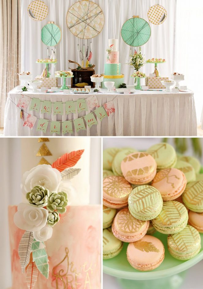 cheap baby shower decorations for girl