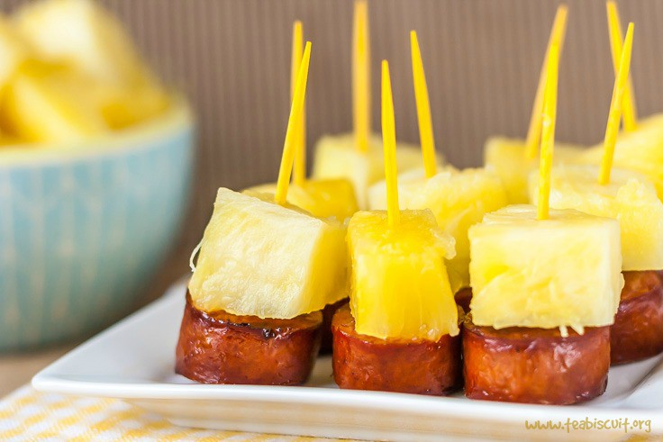foods for baby shower