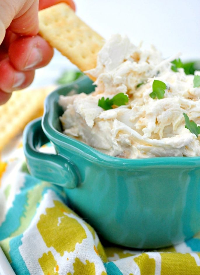 Crab Dip baby shower finger foods
