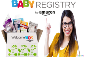 How to get the baby registry amazon welcome box