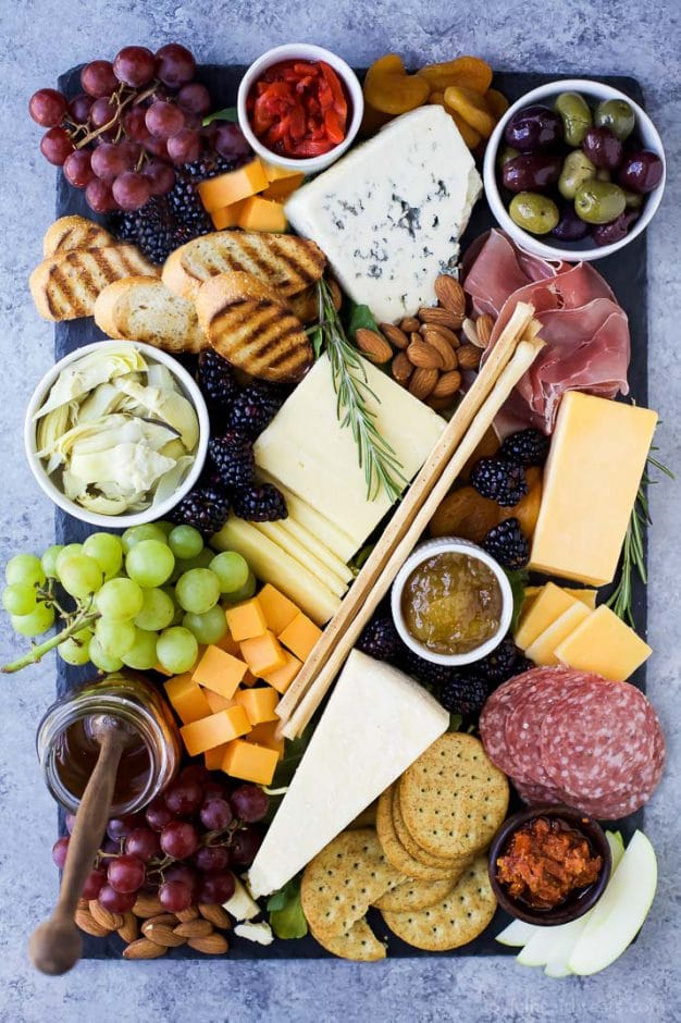 cheese board for baby shower foods