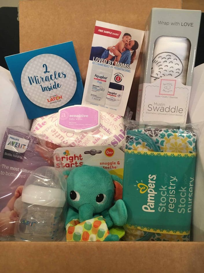 Amazon baby registry welcome box