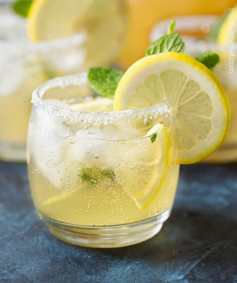 Kentucky lemonade baby shower punch