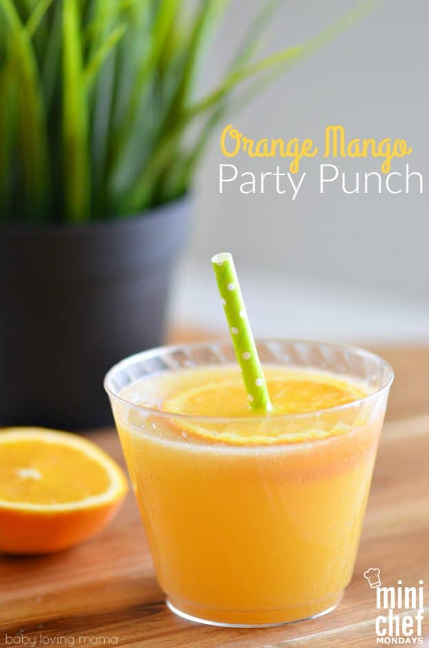 baby shower for green punch recipe