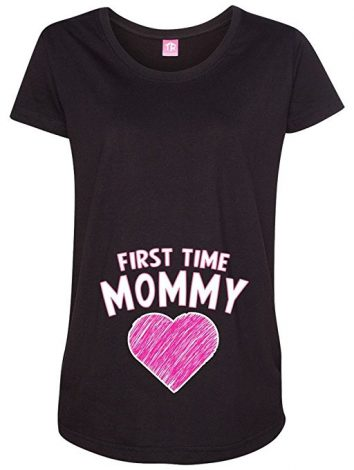 first time mommy funny maternity shirts