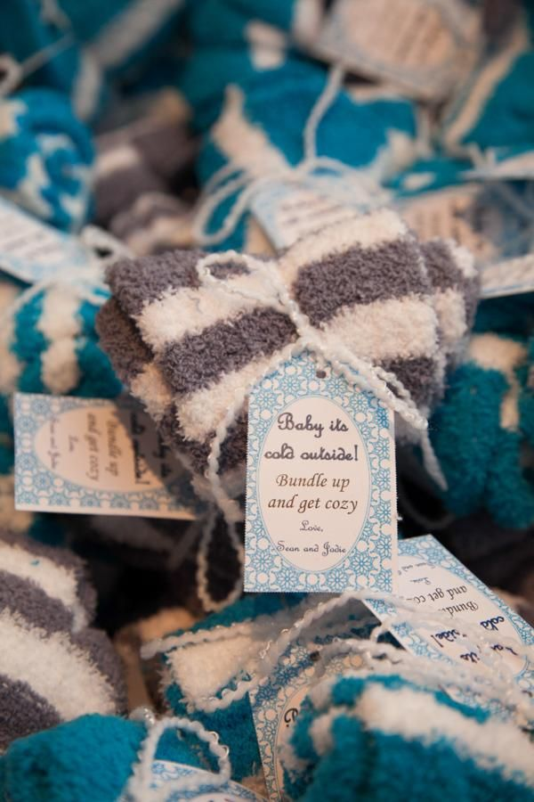baby shower favors for winter