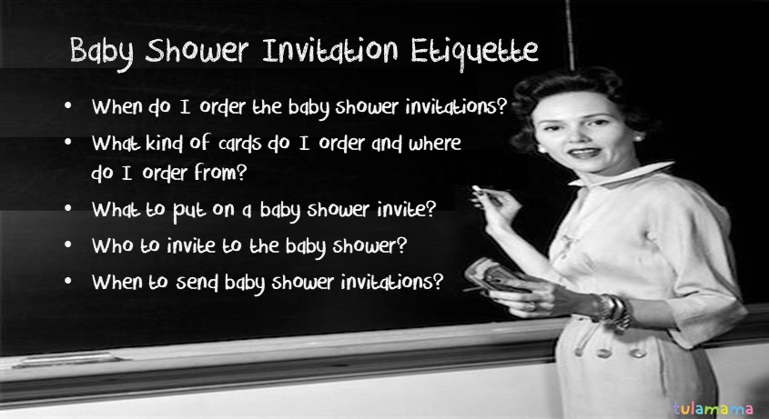 Baby Shower Invitation Etiquette The Only Resource You Need Tulamama