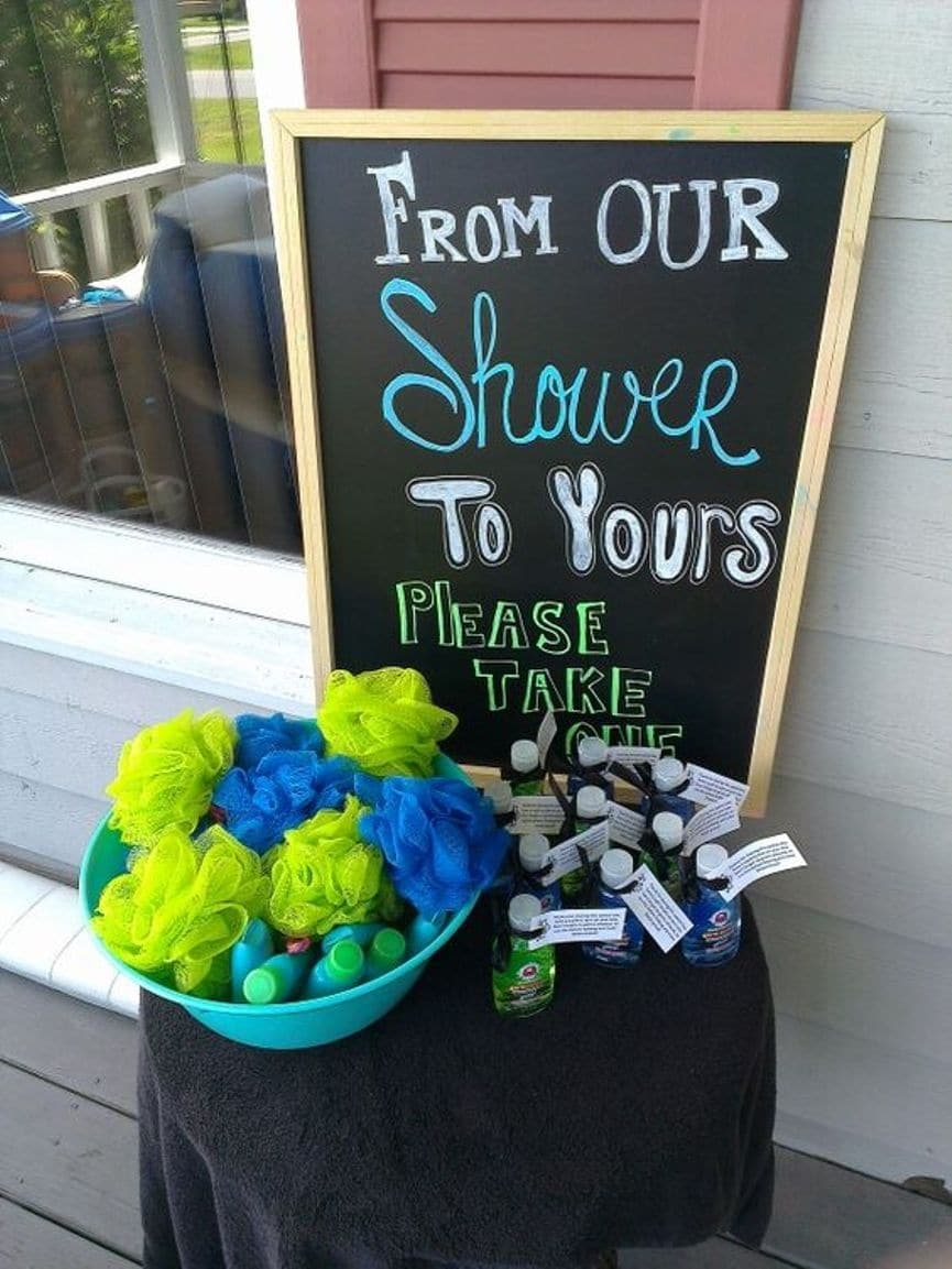 from our shower to yours baby shower favors