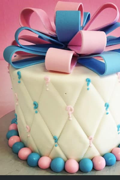 gender reveal cake ideas professional baker
