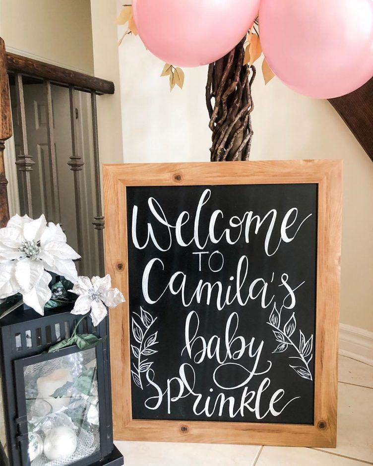Baby Sprinkle | All you wanted to know, including baby sprinkle invitation wording, sprinkle invitations, what is a baby sprinkle, the difference between a baby sprinkle and a baby shower, and more. Pin it. #babysprinkle #babyshower #2ndbabyshower