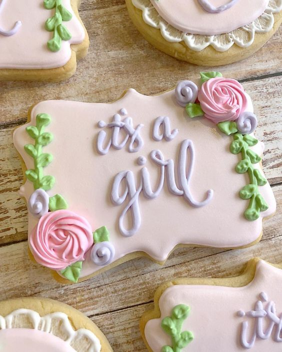 Baby shower cookies 13