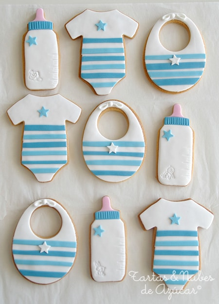 Baby shower cookies 52