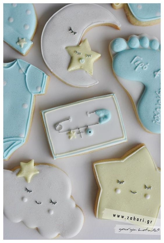Baby shower cookies 58