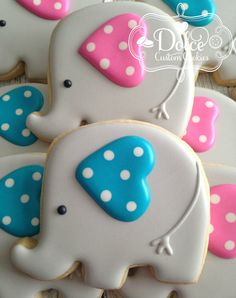 Baby shower cookies 59