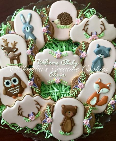 Baby shower cookies 62
