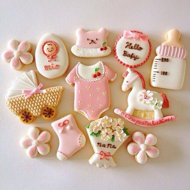Baby shower cookies 63