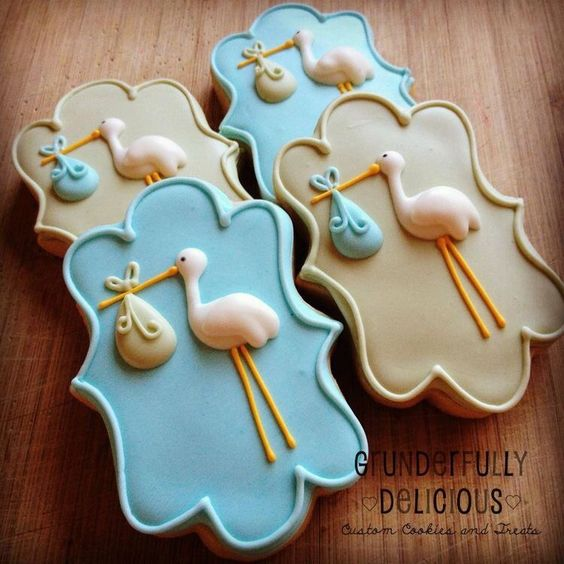 Baby shower cookies 66