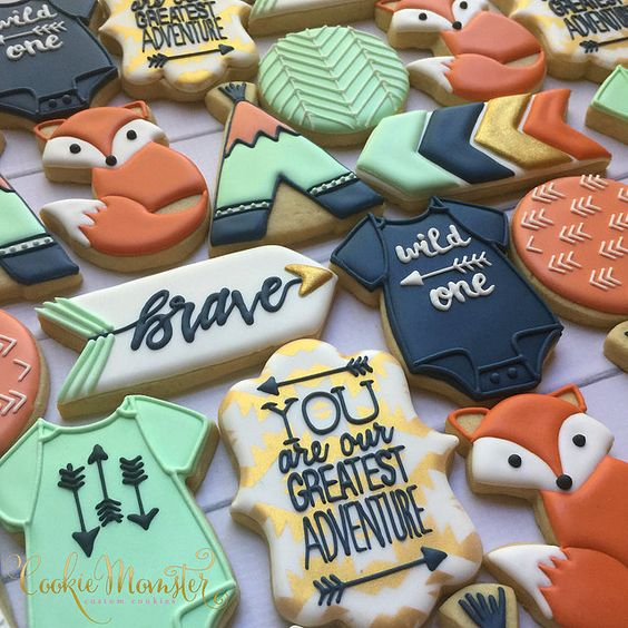 Baby shower cookies 67