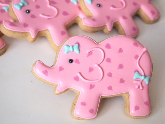 Baby shower cookies 68