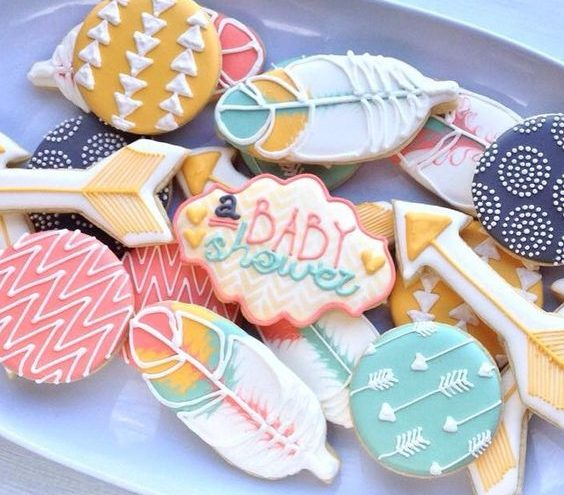 Baby shower cookies 71