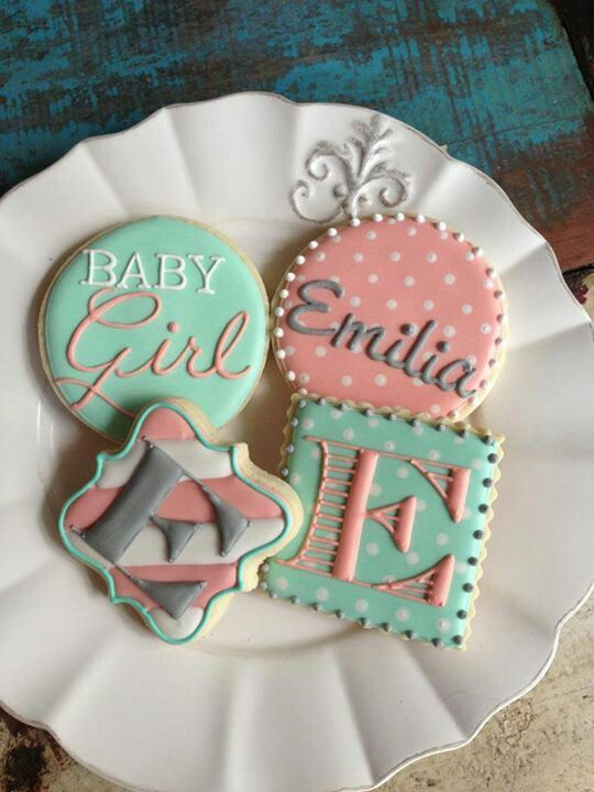 Baby shower cookies 75
