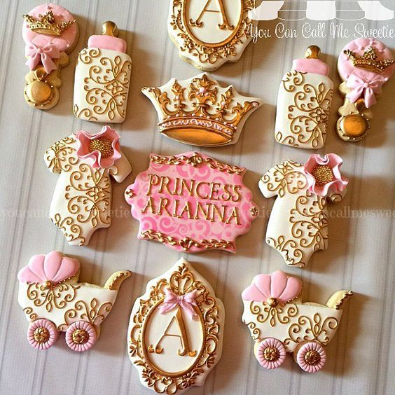 Baby shower cookies 77