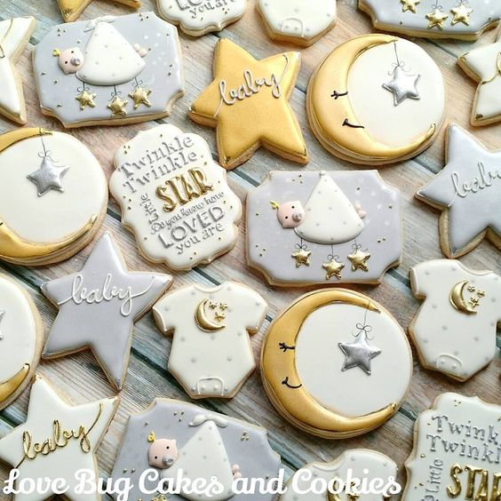 Baby shower cookies 85