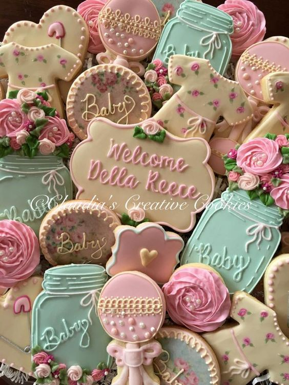 Baby shower cookies 87