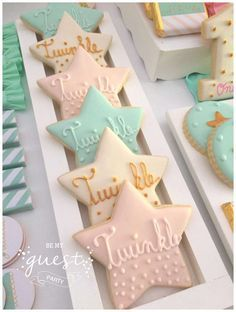 Baby shower cookies 92