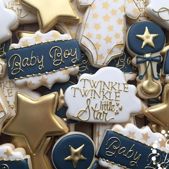 Baby shower cookies 93