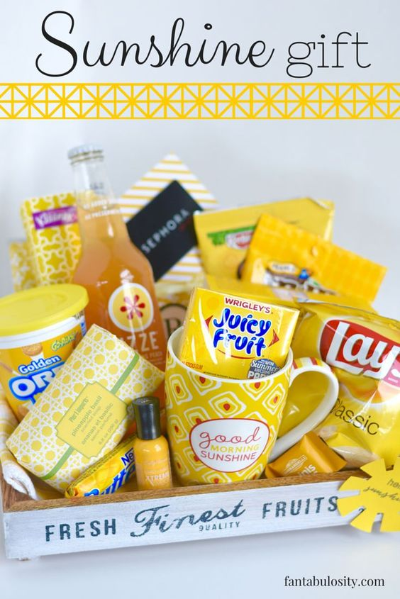 Box of Sunshine Gift Ideas