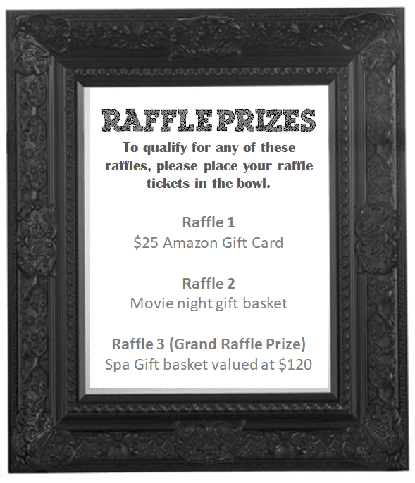 Diaper Raffle Prize Poster