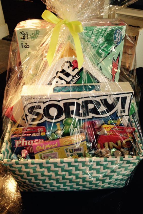 Family Game Night Gift Baskets resident retention