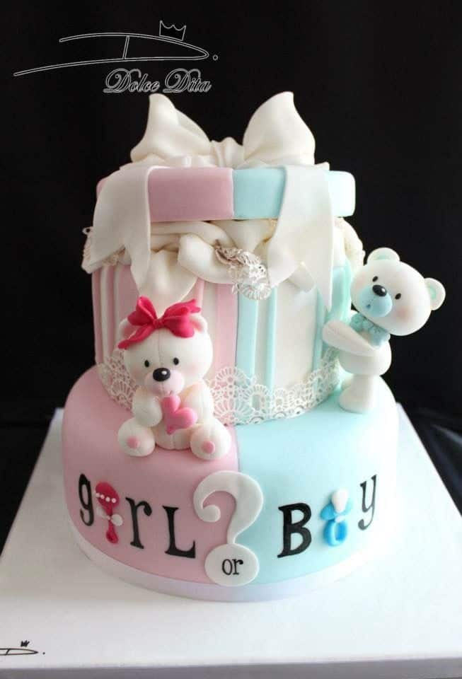 Gender Reveal Cake Ideas 10