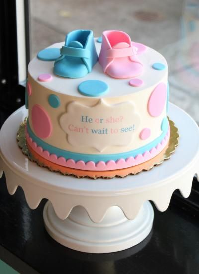 Gender Reveal Cake Ideas 15