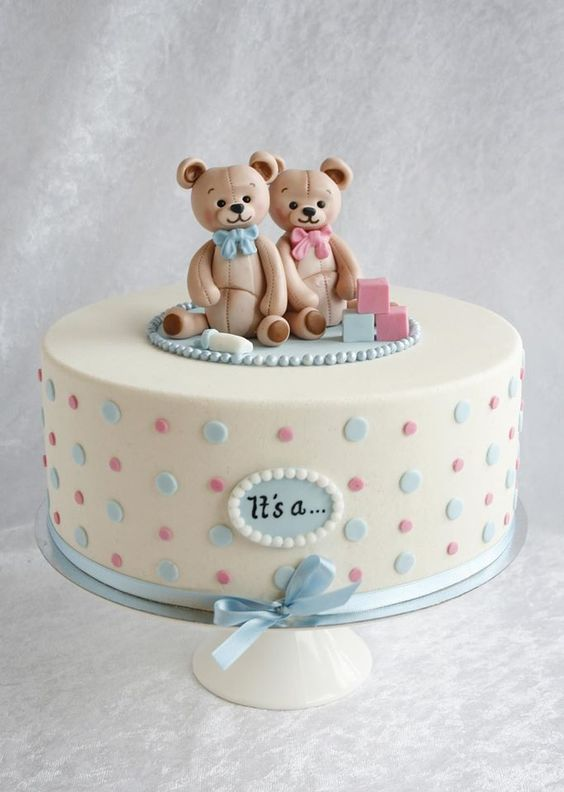 Gender Reveal Cake Ideas 16